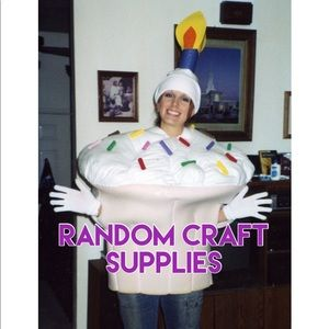 Craft supplies section!